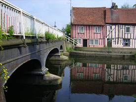 River Colne at Colchester